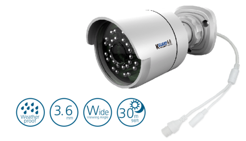 Kguard IPB-400 - 4MP PoE IP Security Camera
